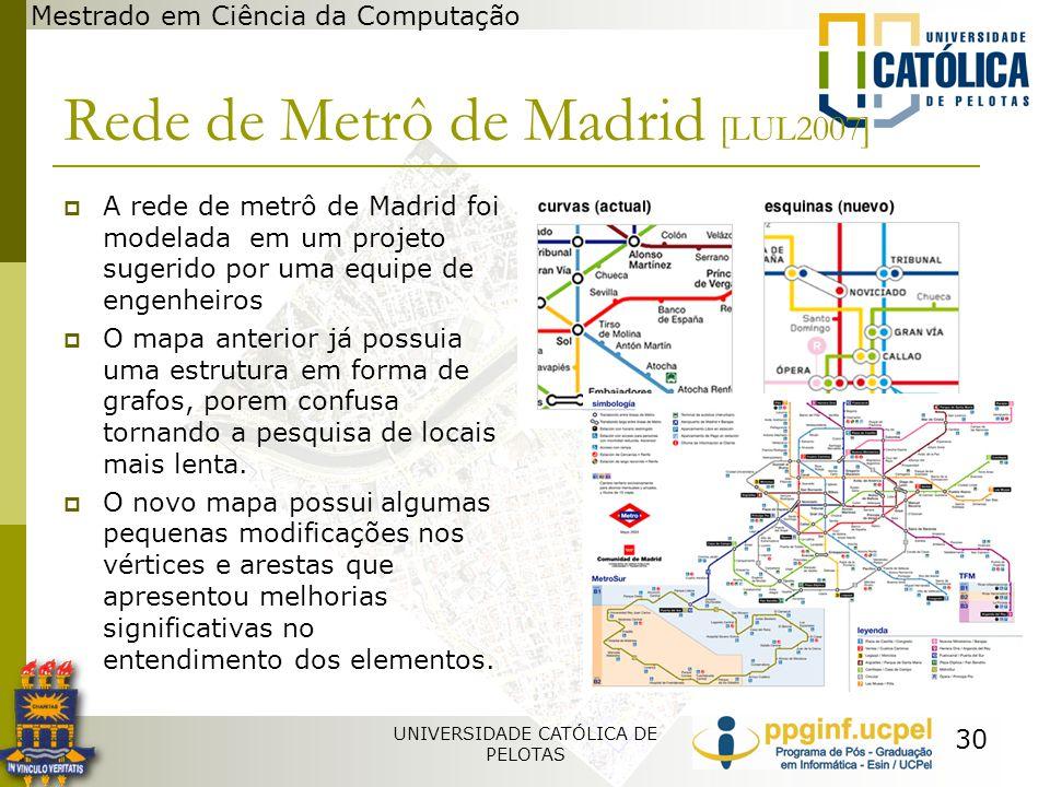Rede de Metrô de Madrid [LUL2007]